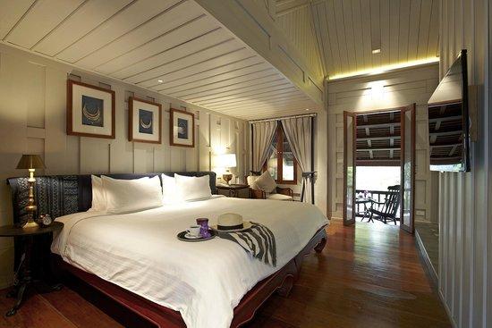 Deluxe Balcony Room at Burasari Heritage