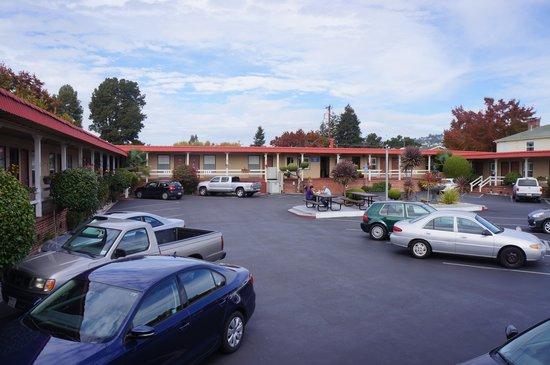 Berkeley Rodeway Inn : Entrada 2