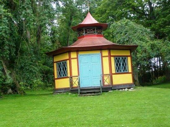 Borre, Denmark: Det Kinesiske lysthus.