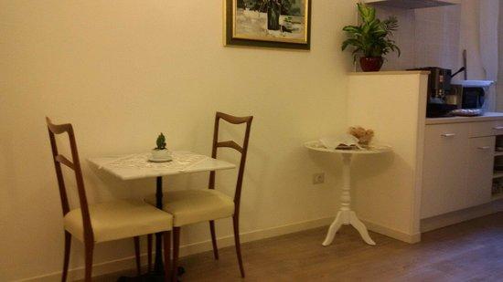 Dante's in Vaticano: Dining area