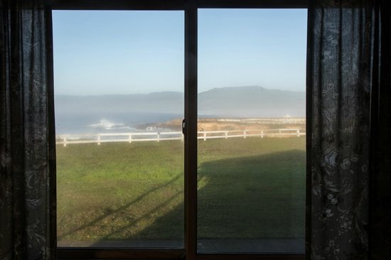 Point Arena Lighthouse: View from Window of Keeper's Room