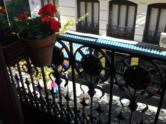 Hostal Comercial: Balcony view