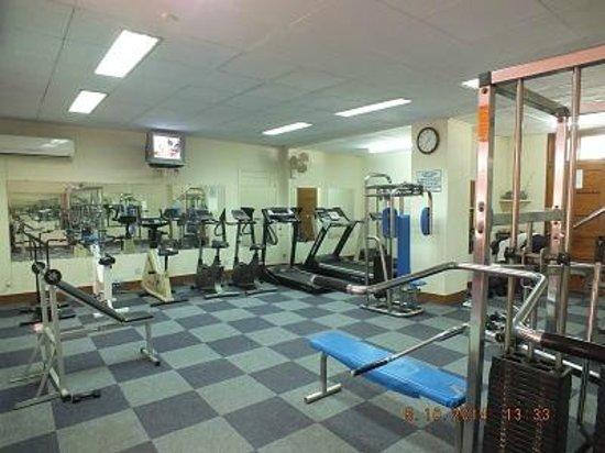 Fitness center picture of beach luxury hotel karachi tripadvisor