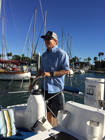 Captain dave picture of sail san diego san diego for Captain dave s fishing