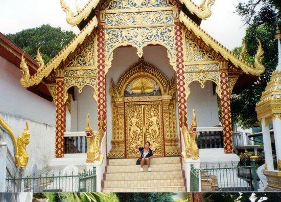 "Wat Phra That Doi Suthep: commonly referred to as ""Doi Suthep"" by tourists. Doi means (Mountain, not temple)"