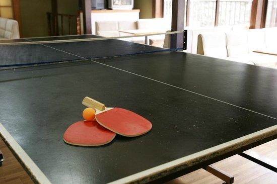 Sankai : 卓球台は無料開放も♪