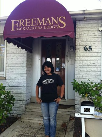 Freemans Lodge & Apartments: Me & my first backpacker hostel