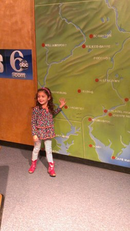 Garden State Discovery Museum: news cast fun