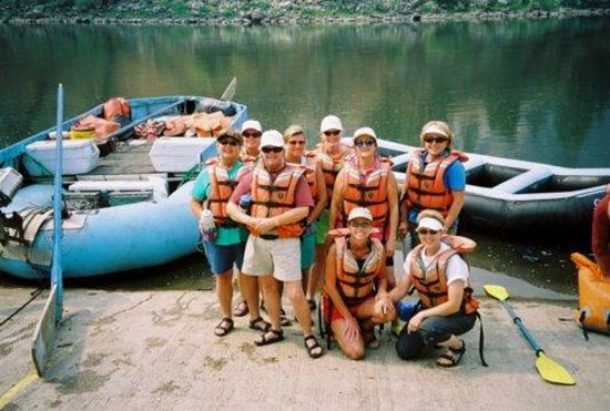 """Salmon River: """"The Texas Belles"""" about to run the river of no return, again!"""