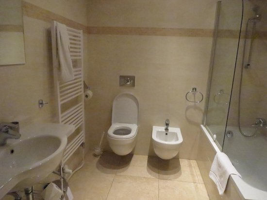 Hunger Wall Residence : The immense bathroom