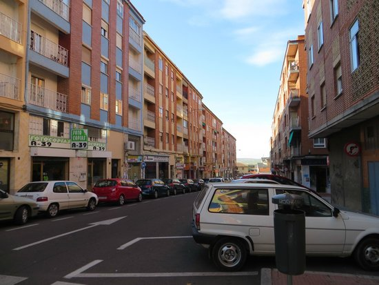 Hall 88 Apartahotel: General neighborhood