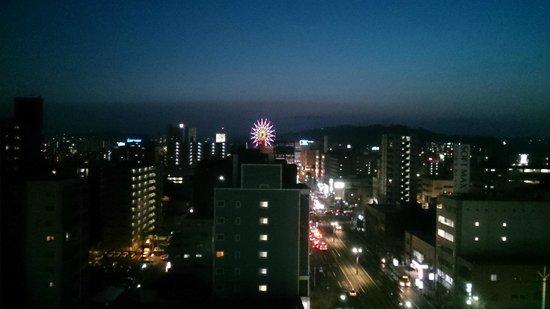 Hotel Hokke Club Kagoshima: ホテルから鹿児島中央駅方向