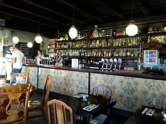 Revelry: Large bar to satisfy those on the porch and the late night crowd