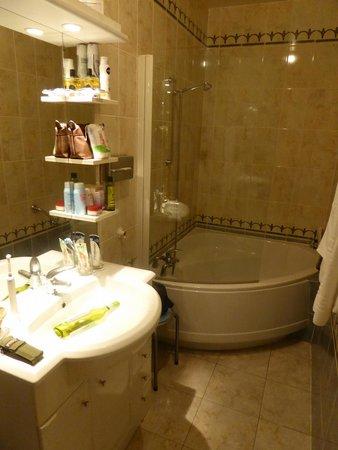 Hotel Bois Joli : badkamer kamer16