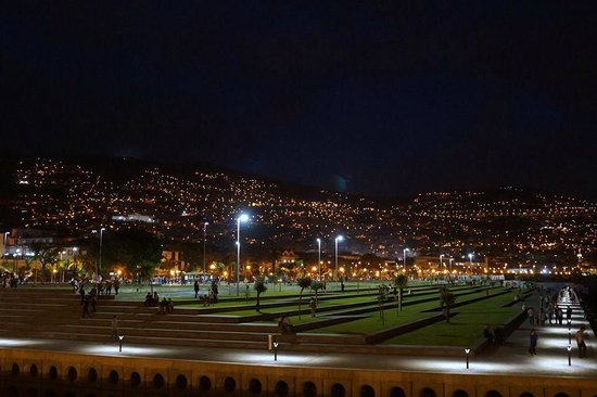 Four Views Monumental Lido: Funchal New Bay night.