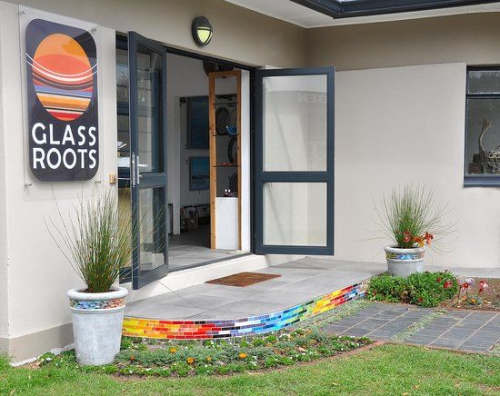 Sedgefield, Güney Afrika: The Glass Roots Studio, Shop and Art Gallery