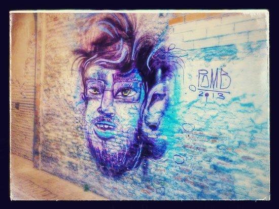 Hi. This is Barcelona... : Graffiti PoMB