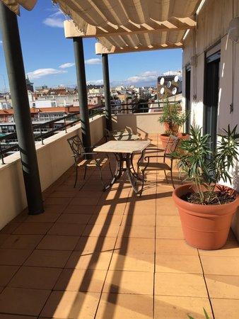 Apartamentos Ramon de la Cruz 41 : Atico balcony