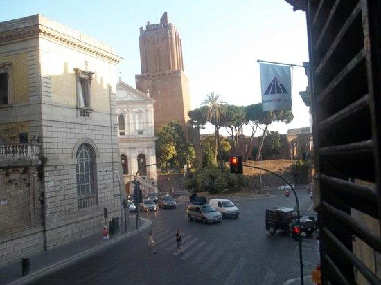 Hotel Fiori : Ausblick aus dem Hotel