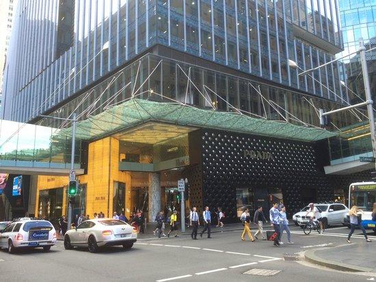 Westfield Sydney: It has a very modern design.