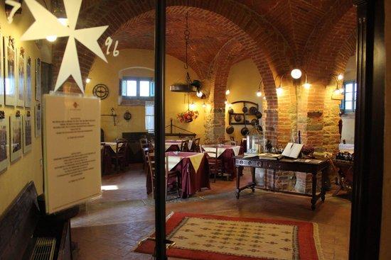 Cortona Resort - Le Terre dei Cavalieri: 朝食をいただく部屋