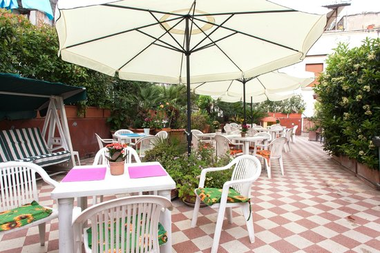 Hotel Toledo : Terrazza