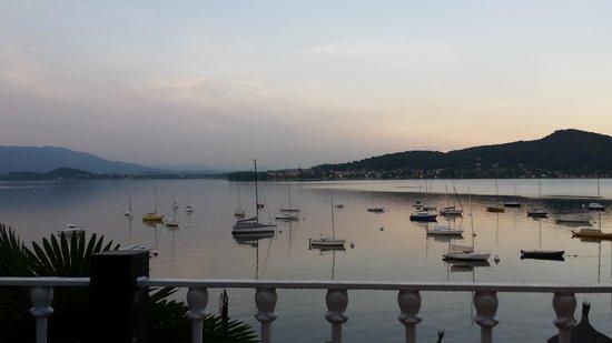 Hotel Villa Paradiso: Blick von der Terrasse