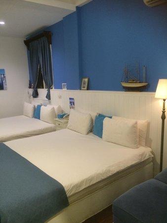 Greek Frontier Villa: Nice room