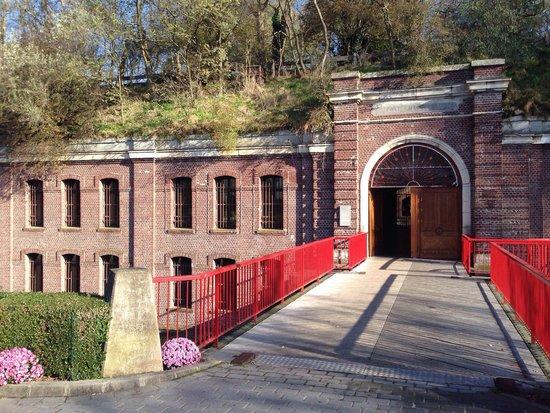 Le Fort : Entree du restaurant