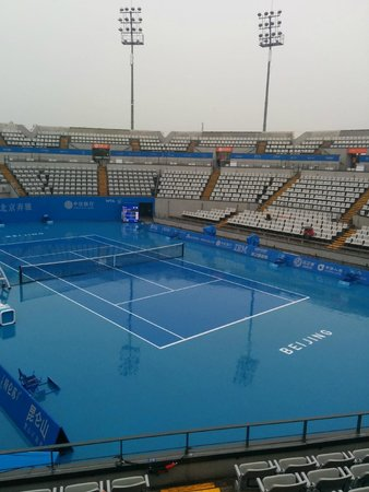 China National Convention Center Grand Hotel: Olympic tennis centre