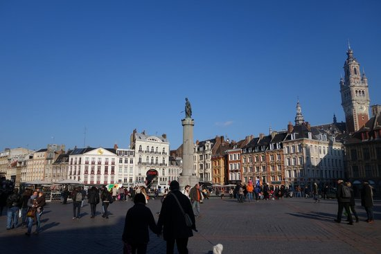 lille grande place picture of vieux lille lille tripadvisor. Black Bedroom Furniture Sets. Home Design Ideas