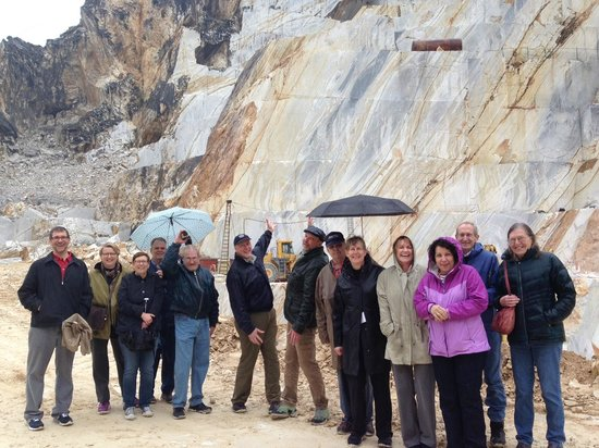 CTTours - Carrara Marble Quarries private tours: In the quarries with Boston M.I.T.