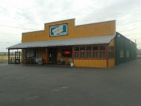 David's Catfish House: Main Building