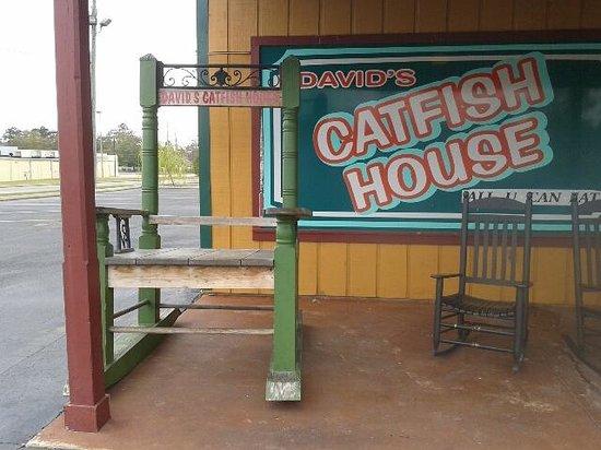 David's Catfish House: Rocking Chair