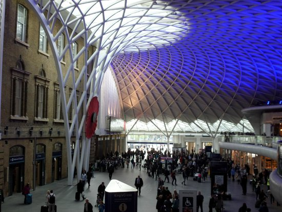 Kings cross station picture of king 39 s cross station - Kings cross ticket office opening times ...