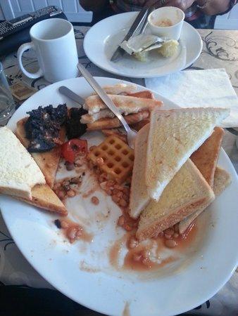Breaktimes Cafe: Full for a week!