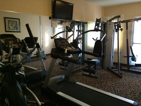 Best Western Plus Main Street Inn: Nice gym