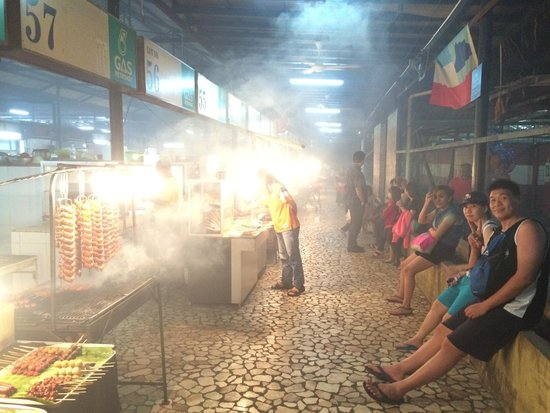 Tanjung Aru Perdana Park : The food stall, fair price and recomended
