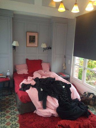 Aux Rives de Honfleur : Notre chambre