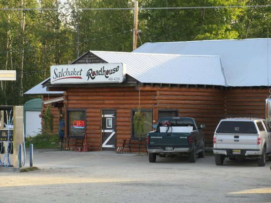 Front door of Salchaket Roadhouse