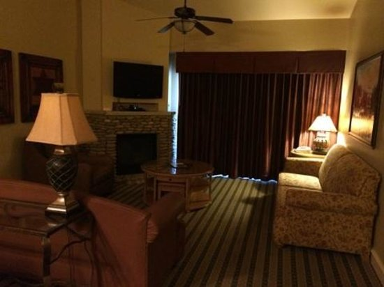 RiverStone Resort & Spa: Livingroom