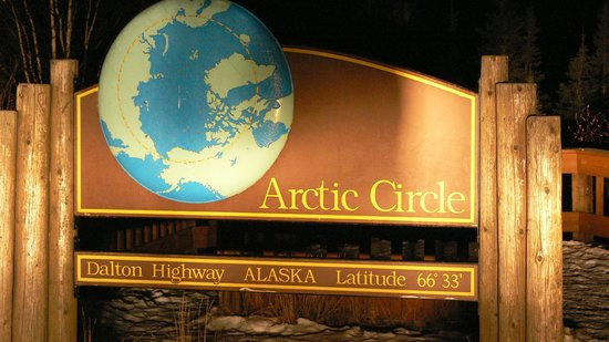1st Alaska Tours: Arctic Circle