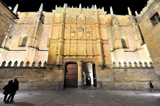 La Rana de Salamanca: Fachada Universidad de Salamanca
