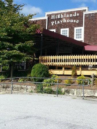 Highlands Playhouse now