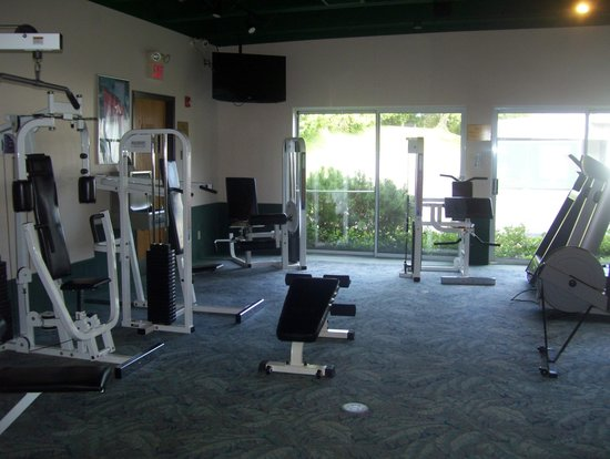 Best Western Plus Waterbury Stowe Gym