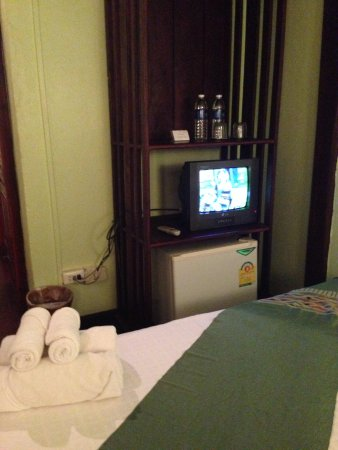 Villa Laodeum: Tv minibar