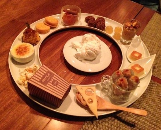 Restaurante Oro: Circuito de sobremesas