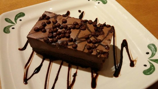 Chocolate Mousse Cake Picture Of Olive Garden Syracuse Tripadvisor