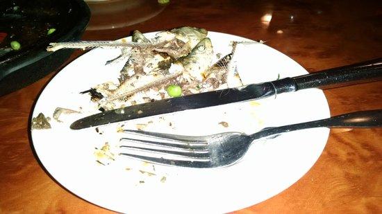 Sangria 46 : grilled sardines (after I ate all I could eat)
