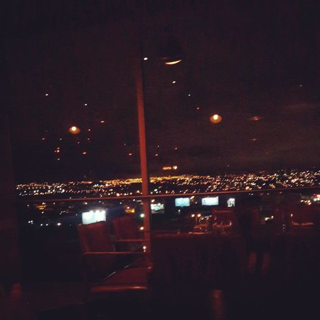8ctavo Rooftop Restaurant & Lounge: view from my table